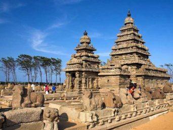 Mahabalipuram|Tour|Krishna Mandapam, Hindu temple, Panch Rathas